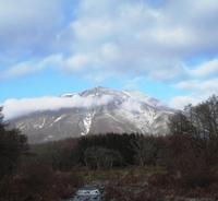 黒姫山と鳥居川