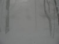 雪煙に消える松木小屋2
