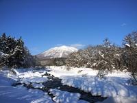 今朝の黒姫山