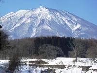 黒姫山(2009年2月24日)
