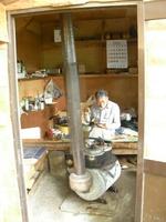 松木小屋の昼食