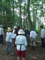 松木の「森を見る視点」を学ぶ