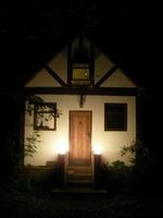 夜のゲストハウス