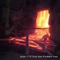 森の恵み 木炭の窯だし