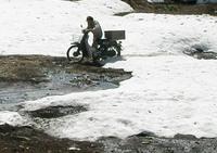 雪上バイクの松木さん