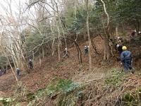 121225_斜面の藪刈りチーム